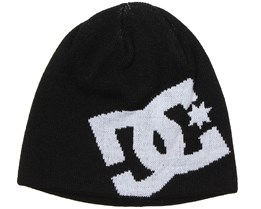 Kids Big Star Black Beanie - DC