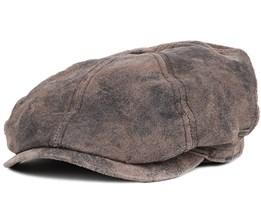 McCook Pigskin Flat Cap - Stetson