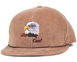 Coal - Wilderness Eagle Khaki Snapback