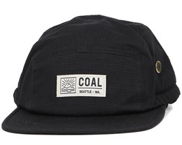 Treck Black 5-Panel - Coal