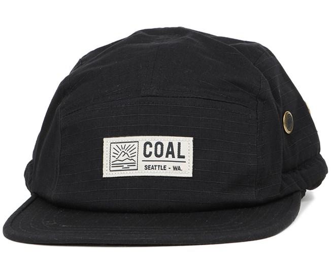 Treck Black 5-Panel - Coal