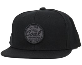 Classic Black Snapback - Coal