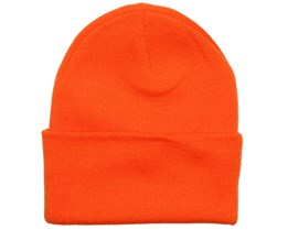Fluor Orange Beanie - Beanie Basic