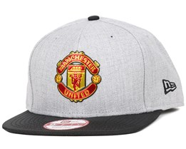 Manchester United Ballistic Grey/Black 9Fifty Snapback - New Era
