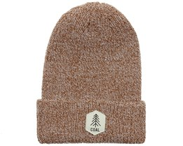 Scout Light Brown Marl Beanie - Coal