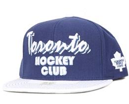 Script Toronto Maple Leafs Snapback - Reebok