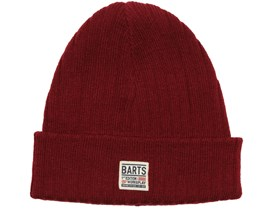 Parker Burnt Red Beanie - Barts