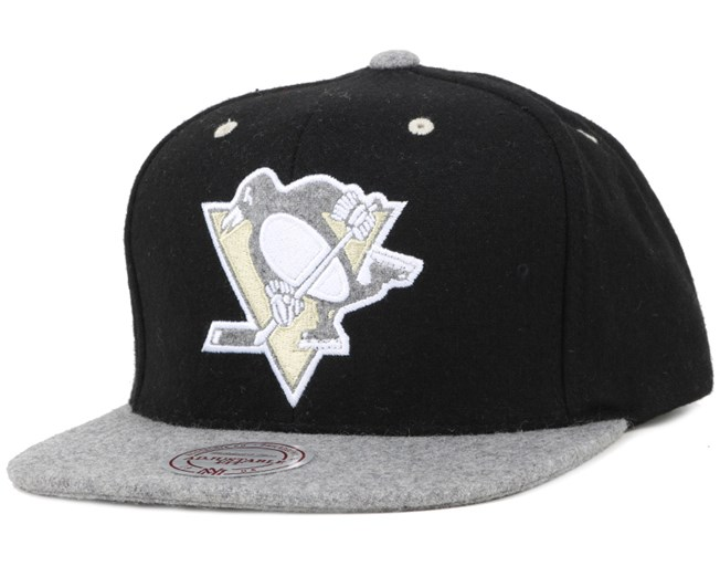 Pittsburgh Penguins Heather Melton Strapback - Mitchell & Ness