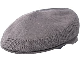 Tropic 504 Ventair Charcoal Flat Cap - Kangol