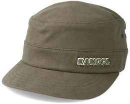 Cotton Twill army Cap Army Green Flexfit - Kangol
