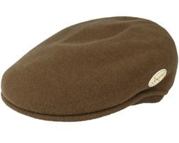 Wool 504 Earlap Camo Flat Cap - Kangol