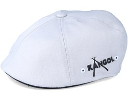 Baseball Cap 3D Flanell Grey Flatcap - Kangol