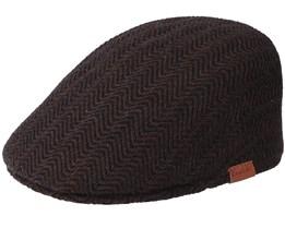 Herringbone Americano Flat Cap - Kangol