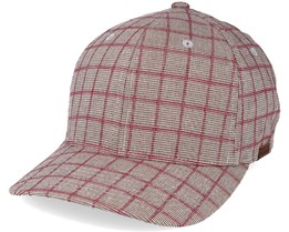Pattern Baseball Checkered Beige Flexfit - Kangol