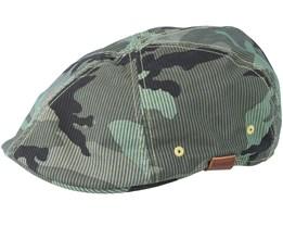 Pattern 504 Camo Flatcap - Kangol