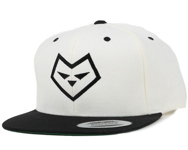 Logo One White/Black Snapback - Iconic