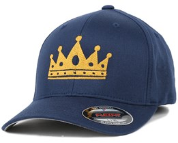 Crown Navy/Gold Flexfit - Iconic