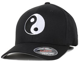 Yin & Yang Black/White Flexfit - Iconic