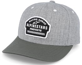 Proprietor Curve Heather Grey Adjustable - Alpinestars