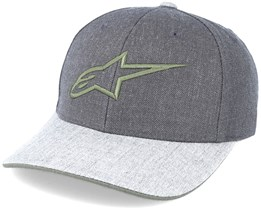 Mixer Curve Charcoal Heather Grey Adjustable - Alpinestars