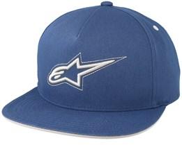 Link Blue Snapback - Alpinestars