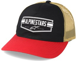 Emblem Black Trucker Adjustable - Alpinestars