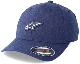 Feast Heather Navy Flexfit - Alpinestars
