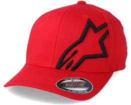 Corp Shift 2 Flexfit Red/Black - Alpinestars