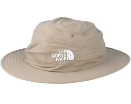 Suppertime Hat Dune Beige Leaf Green Hat - The North Face