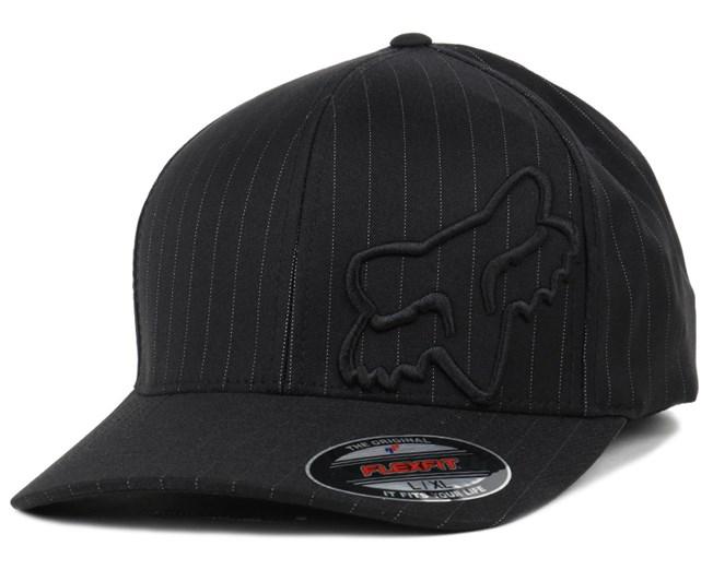 Flex 45 Black Pinstripe Flexfit - Fox