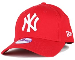 Kids NY Yankees Basic Scarlet 940 Adjustable - New Era