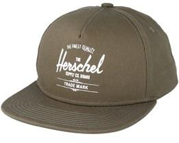 Whaler Army Snapback - Herschel