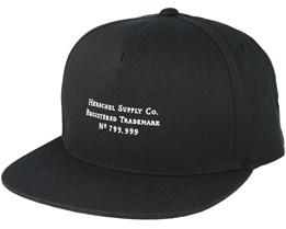 Trademark Black Snapback - Herschel