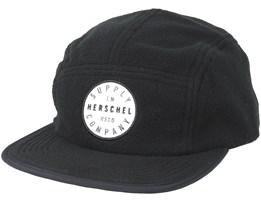 Glendale Black Strapback - Herschel