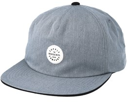 Kent Heathered Grey/Black Snapback - Herschel
