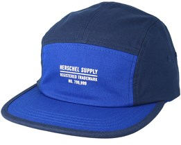 Glendale Navy/New York Royal Strapback - Herschel