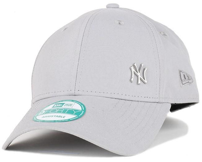 NY Yankees Flawless Grey 940 Adjustable - New Era