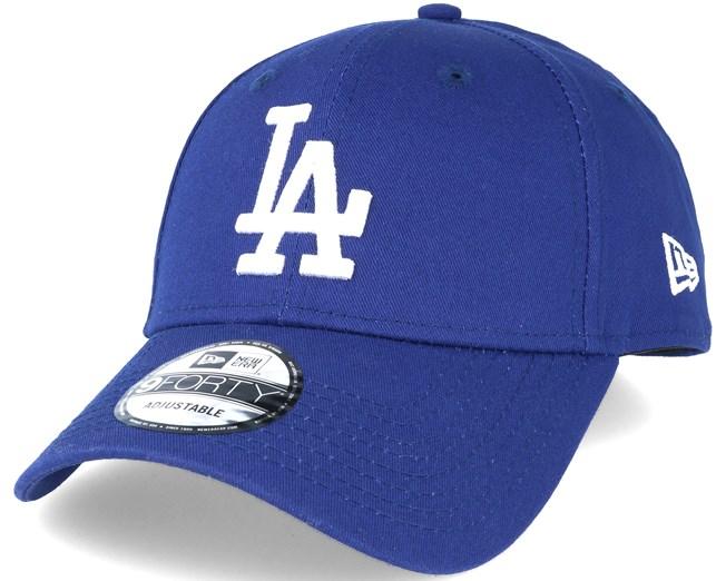 LA Dodgers League Basic Dark Royal/White 940 Adjustable - New Era