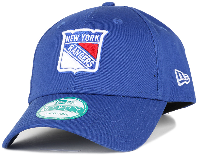 ny rangers league basic team 940 adjustable new era cap. Black Bedroom Furniture Sets. Home Design Ideas