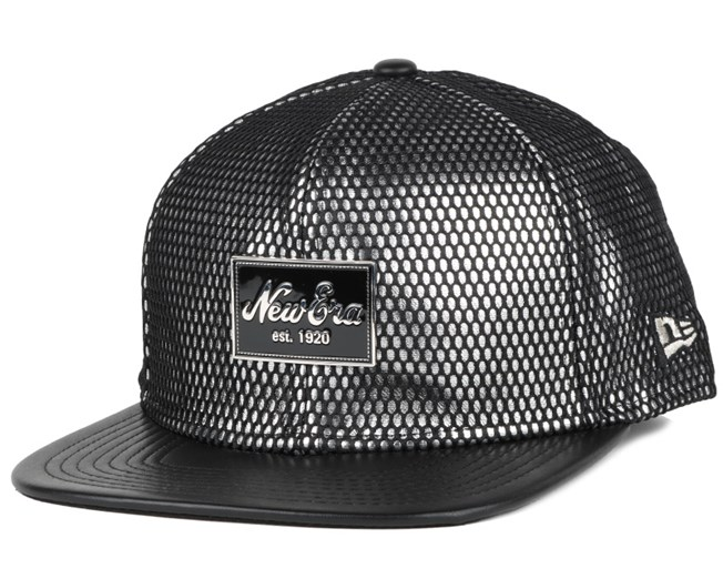 Fabric Mix Black/Silver 9Fifty Snapback - New Era