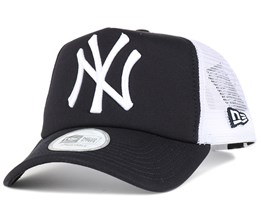 NY Yankees Clean Navy Trucker - New Era