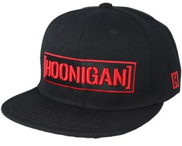 Black Widow Black Snapback - Hoonigan