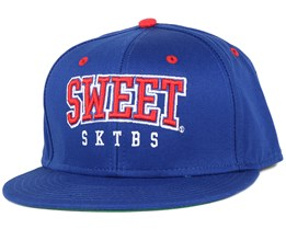 Arch Blue/Red Snapback - Sweet