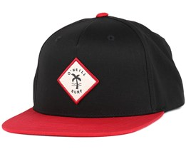 Twin Fin Rust Red Snapback - O'Neill