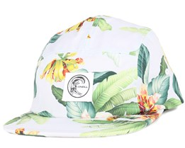Surfed Out White/Green 5-Panel - O'Neill