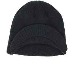 The Basic Black Beanie - Coal