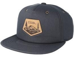 The Tahoma Charcoal Snapback - Coal