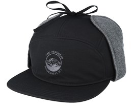 The Tracker Black Fitted - Coal