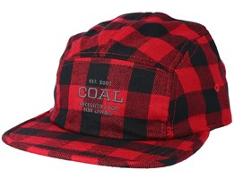 The Richmond Red Strapback - Coal
