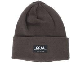 The Carson Brown Beanie - Coal